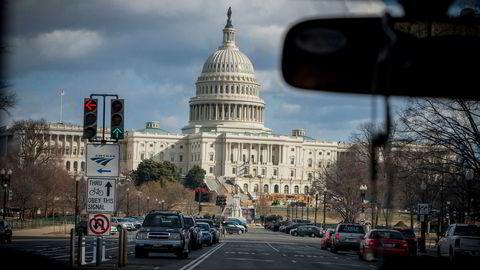 Den amerikanske kongressbygningen «Capitol» i Washington, D.C.