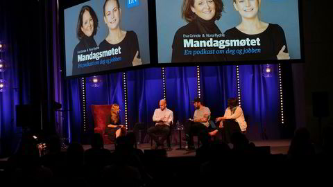 Mandagsmøtet live Trondheim. Gründerspesial fra NTNUs vitenskapsfestival juni.