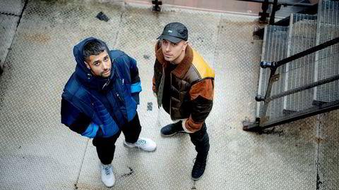 – Når vi har stilt spørsmål, så har vi til slutt bare møtt en vegg, sier Magdi Omar Ytreeide Abdelmaguid (til høyre), som sammen med Chirag Rashmikant Patel utgjør Karpe.