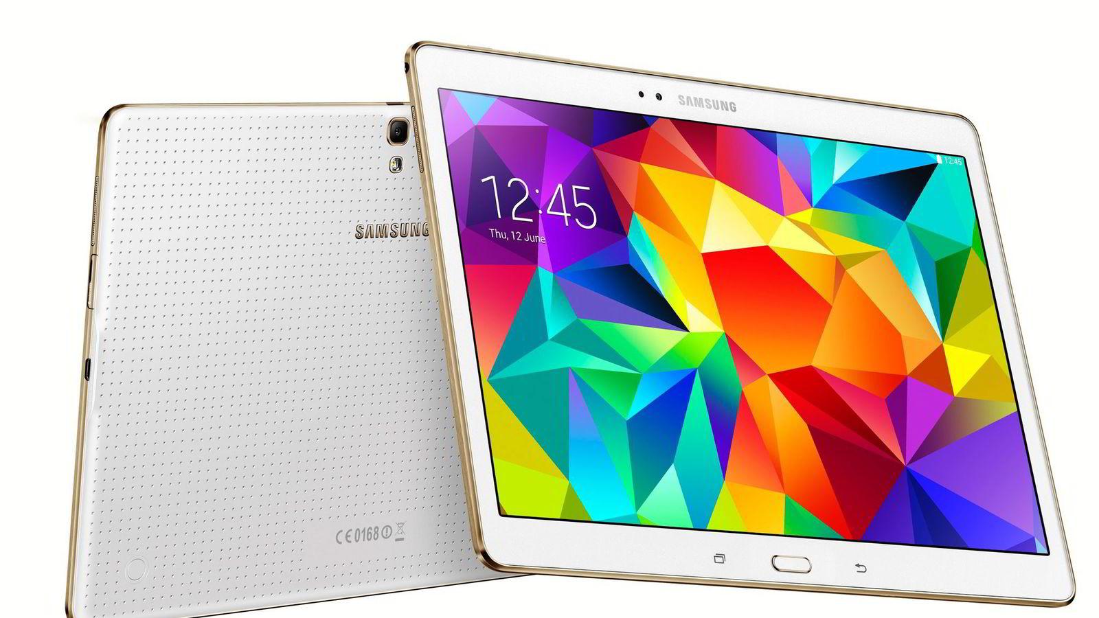IPAD-ALTERNATIV. Samsung Galaxy Tab S passer de fleste brukere på en ypperlig måte og er et godt alternativ til Ipad.