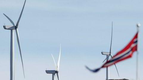 Det har vært stor motstand mot vindkraft flere steder i landet. Nå skal motstanderne samle seg under én organisasjon. Førstkommende søndag varsler de demonstrasjon i Oslo. Bildet er fra Fitjar.