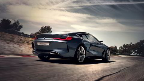 BMW Concept 8-serie er en linjelekker bil som når den kommer i produksjonsutgave, skal friste kunder i det øvre prissegmentet.