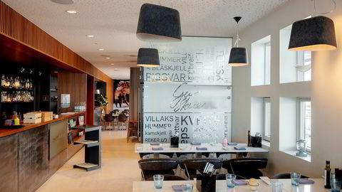 Bryggen 11 er eneste sjømatrestaurant på Stord.