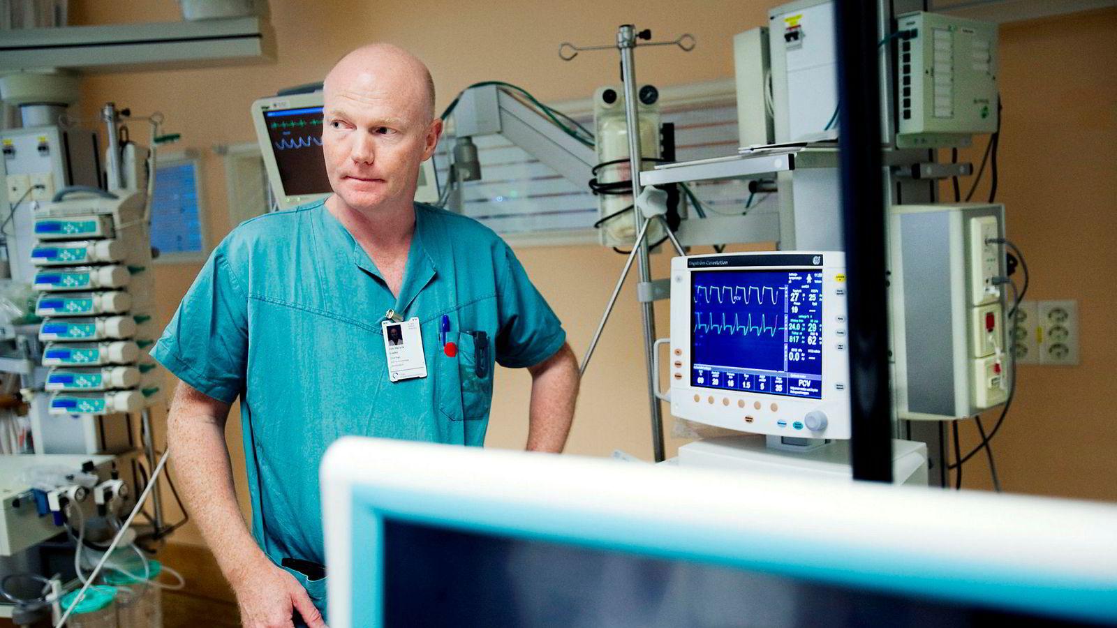 Helsevesenet har til oppgave å ivareta befolkningens helse, og det Stensland i realiteten etterspør, er noe annet, skriver Jon Henrik Laake (bildet), overlege ved Akuttklinikken, Rikshospitalet.