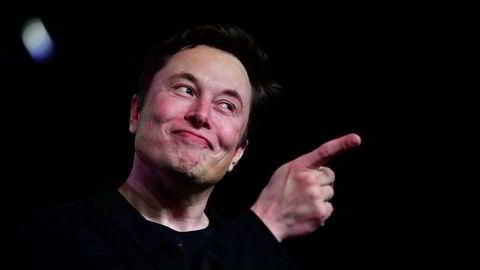 Elon Musk, sjef i Tesla og SpaceX, har laget en raplåt.