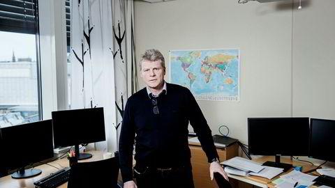 Økokrim anslo i 2013 at betalingsagenter overførte tre milliarder kroner i året ut av Norge. – Det reelle tallet er trolig mye høyere, sier Sven Arild Damslora, leder for Enheten for finansiell etterretning i Økokrim. Foto: Fredrik Bjerknes