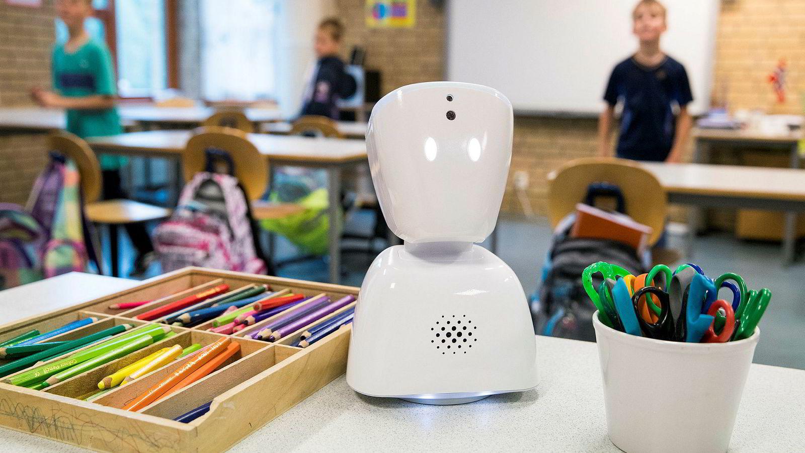 No Isolation er utrolig flinke til å involvere brukere med veldig tidlige versjoner av produktene sine, skriver innleggsforfatteren. Roboten AV1 er produsert av selskapet.