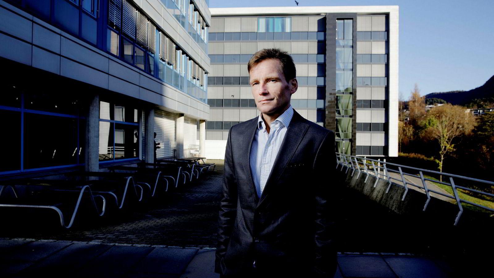 Finansmarkedet later til å tolke Trumps korte tale etter valgseieren – og løfter om lavere skatt – positivt, mener investeringsdirektør Robert Næss i Nordea Investment Management.