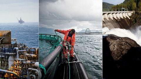 Her i Norge har fossene våre gitt billig elektrisk energi, oljefunnene våre er forvaltet godt og har skapt en konkurransedyktig leverandørindustri, og vi er en havnasjon som utnytter ressursene våre bærekraftig gjennom fiskeri og havbruk.