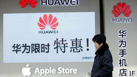 Noen av verdens største selskaper rammes med full tyngde av problemene i den kinesiske økonomien. Etterspørselen etter Iphone har stupt i Kina de siste månedene.
