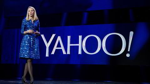 Yahoo-sjef Marissa Mayer. Foto: Robert Galbraith/Reuters