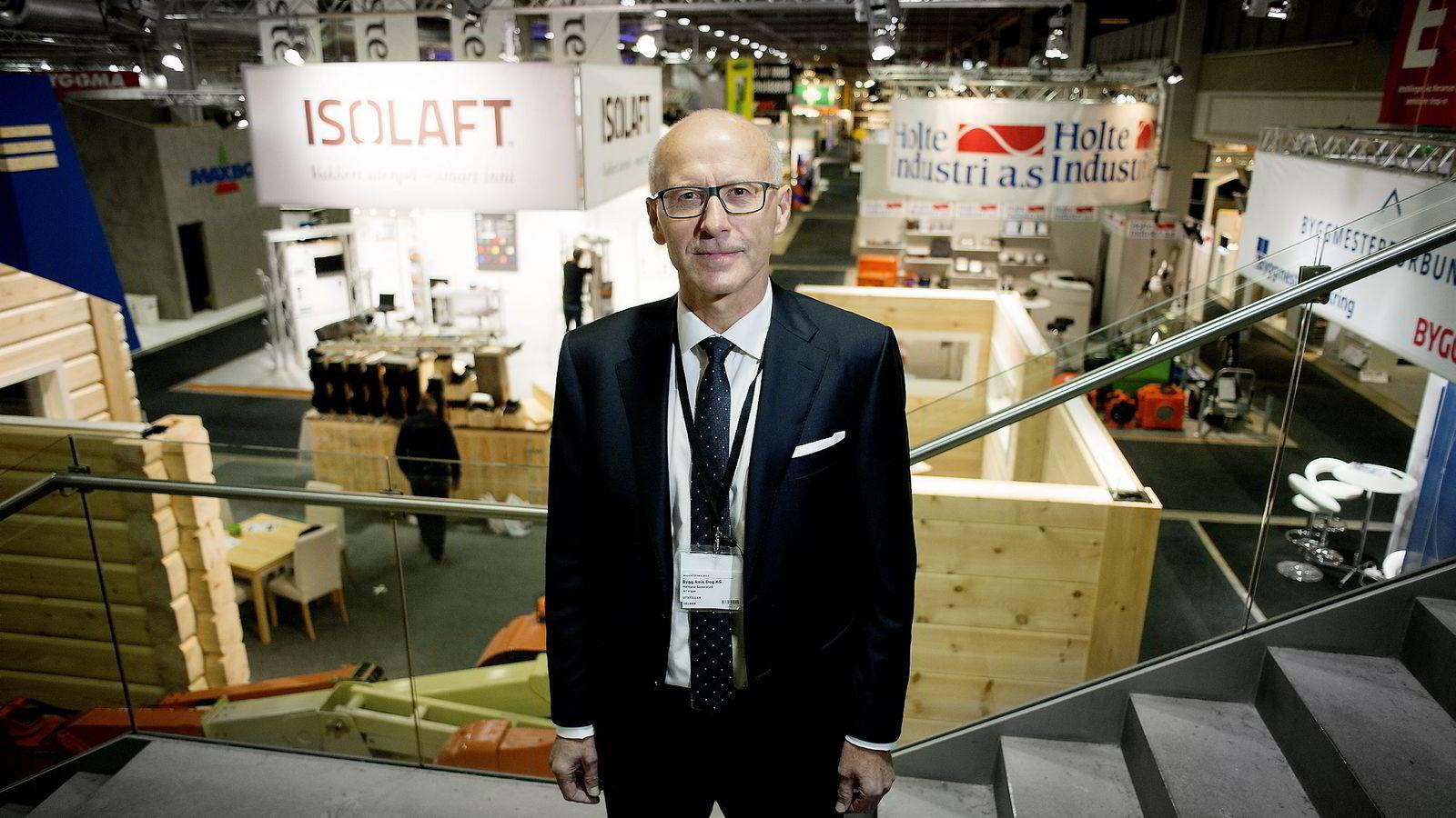 e8e24de2 Administrerende direktør Halvard Gavelstad i Bygg Reis Deg mener norsk  byggenæring stadig blir internasjonalisert.