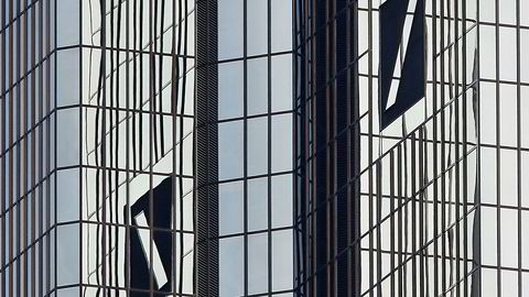 Deutsche Bank sitt hovedkontor i Frankfurt.