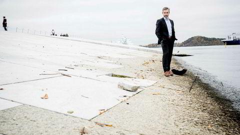 Kjetil Bøhn er administrerende direktør i Quantafuel, et selskap som lager drivstoff av plastavfall.