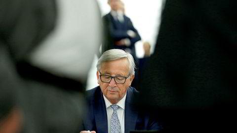 EU-kommisjonens sjef Jean-Claude Juncker. Foto: AP/NTB Scanpix