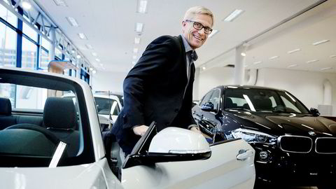 Erik Andresen i Bilimportørenes Landsforening