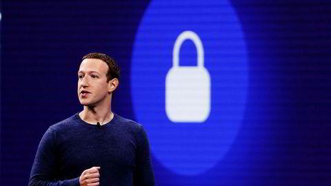 Mark Zuckerberg er grunnlegger og sjef i Facebook. Foto: Justin Sullivan/AFP/NTB Scanpix