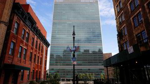 Toje bommer også når det gjelder reform av FN. Takket være en offensiv generalsekretær og engasjerte medlemsland, har vi nå en historisk sjanse til å få gjort FN-systemet mer effektivt, skriver artikkelforfatteren. Her FN-bygningen i New York