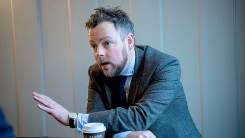 Næringsminister Torbjørn Røe Isaksen (H) er bekymret for at EØS-motstanderne vinner frem i fagbevegelsen.