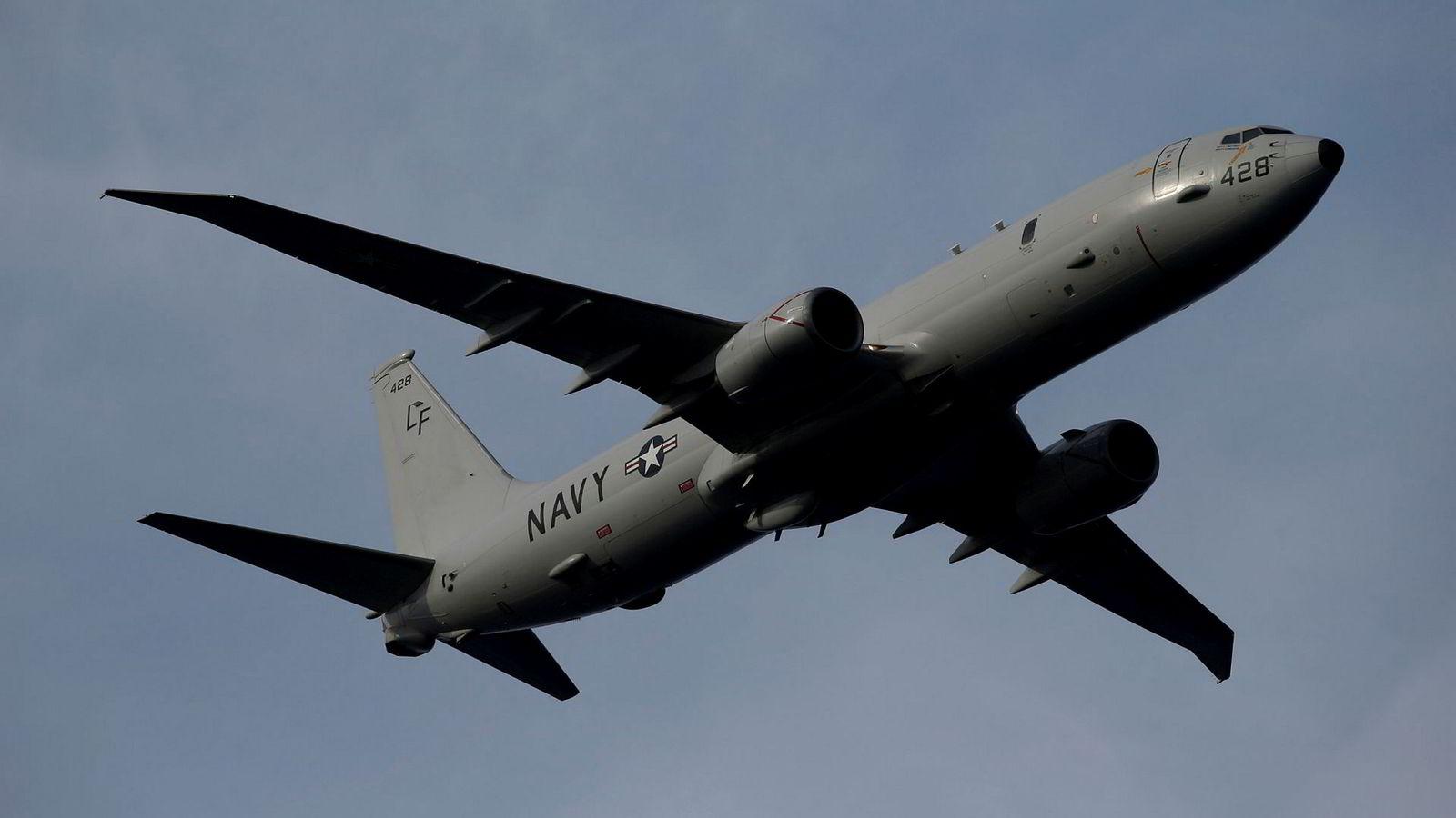 Boeing skal levere fem fly av typen P-8A Poseidon til Norge. Skipet brukes til overvåkning av ubåter.