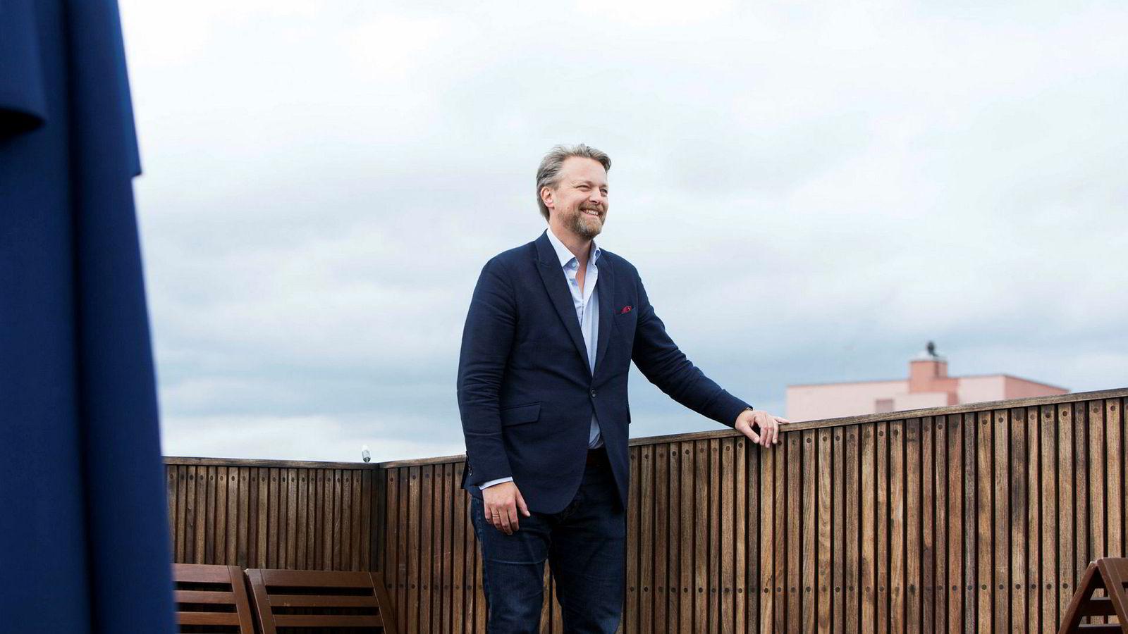 Administrerende direktør Jarle Holm i Monner.