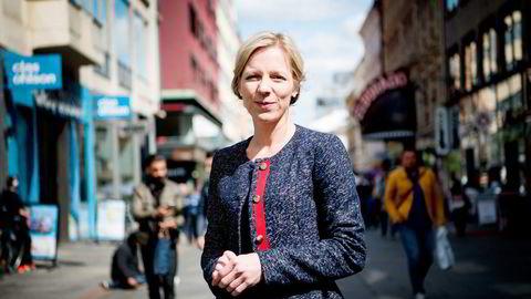 Agenda-sjef Marte Gerhardsen ba om og fikk økonomisk støtte fra Kongsberg Gruppen til ungdomspolitiker-tur til USA.                   Foto: Mikaela Berg