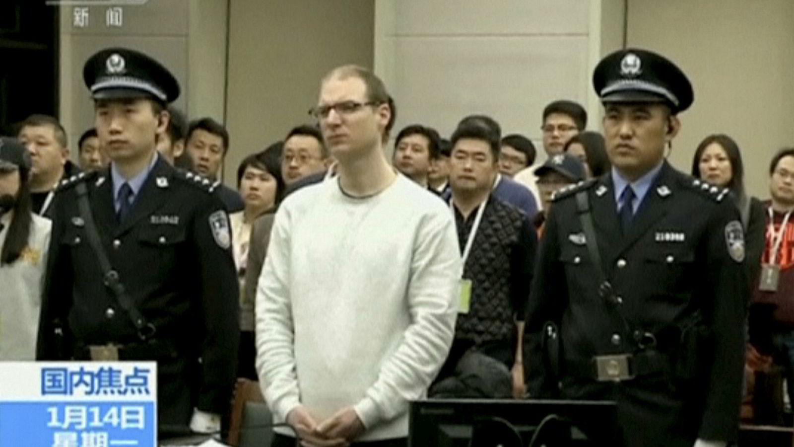 Kanadieren Robert Lloyd Schellenberg ble pågrepet i 2014 for narkotikasmugling fra Kina til Australia. I november i fjor ble han dømt til 15 års fengsel. Nå venter en dødsdom.
