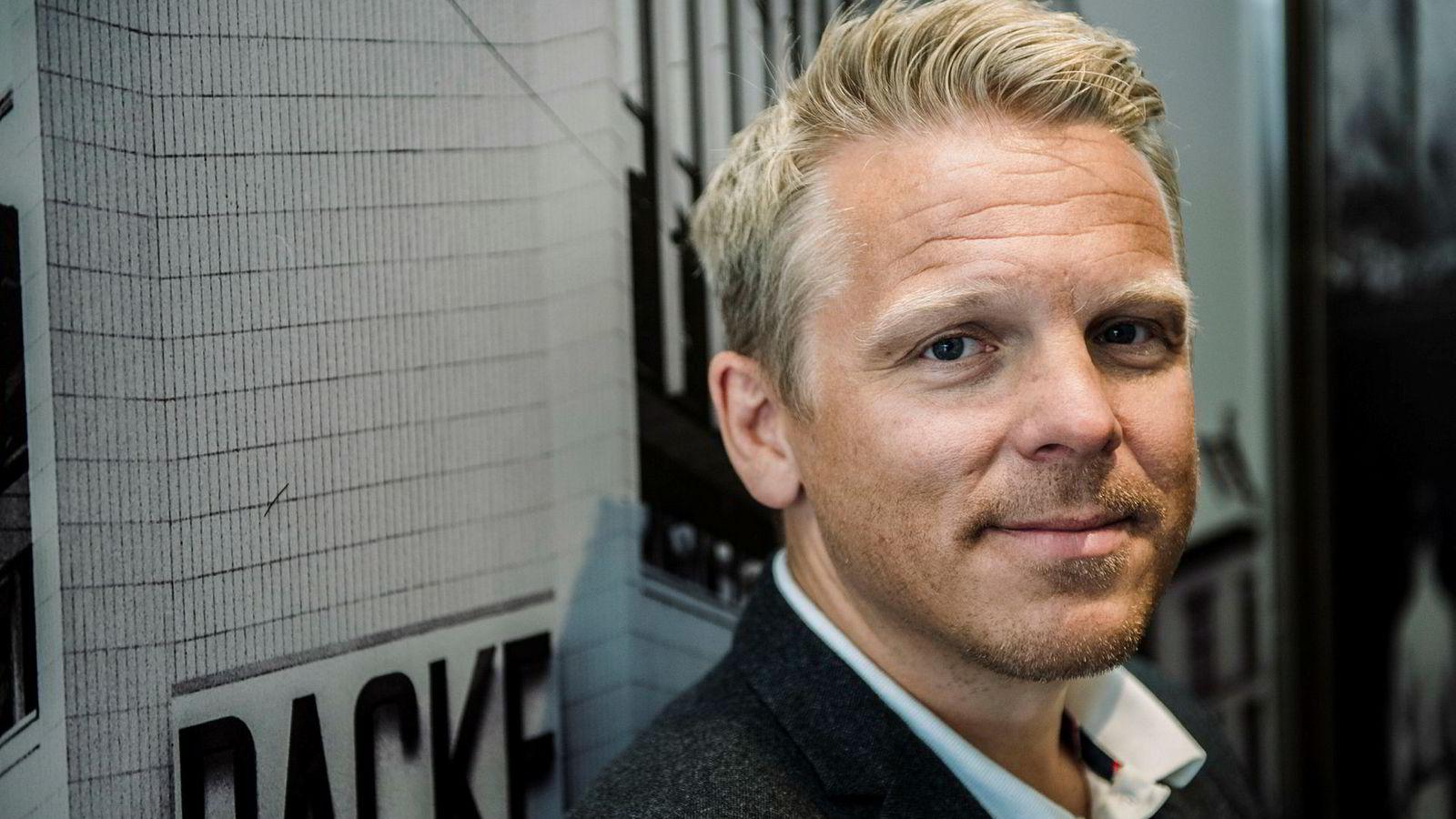 Daglig leder Anders Skar i Nordnet vil gjøre investeringsfond mer attraktivt.