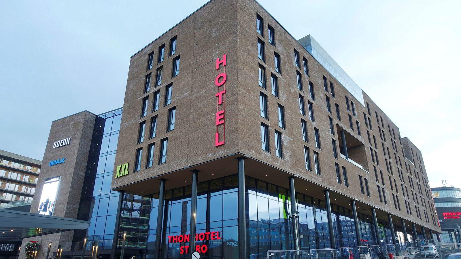 Thon Hotel Storo er blitt den nye storstuen i Nydalen med 325 rom; både større og bedre enn nabohotellet Radisson Blu.