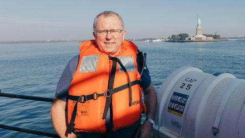 På båtturen ut til Equinors nye gigantprosjekt for havvind utenfor New York, spøkte konsernsjef Eldar Sætre med at vi nå kunne se hvorfor selskapet byttet navn til Equinor.