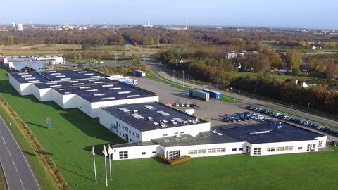 Nels nye fabrikklokaler i Herning i Danmark. Foto: Nel/H2 Logic