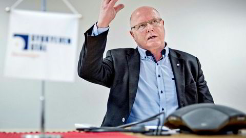 Karl Inge Rekdal, leder av NHOs forum for små og mellomstore bedrifter og toppsjef i selskapet Sykkylven stål, mener det haster med å få kutt i formuesskatten.