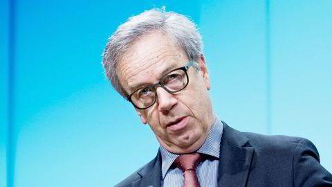 Sentralbanksjef Øystein Olsen vil stille klarere krav til bankene. Foto: Elin Høyland