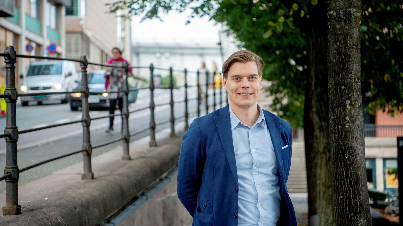 Joel Järvinen skal lede Uber i alle markedene i Norden.