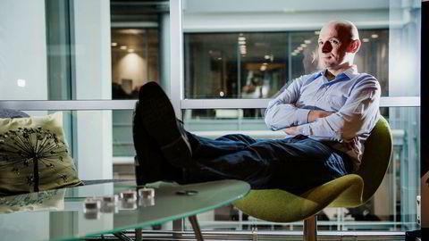– Jeg tok en voldsom risiko, det skal jeg ikke gjøre igjen, sier Geir Førre om å nær tømme kassen for å investere i Energy Micro og Prox samtidig. Han understreker at han fortsetter med risikable investeringer, men ikke vil risikere å starte på bar bakke igjen.  Foto: Hampus Lundgren