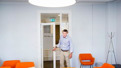 Om aksjonærene i Cxense stemmer for emisjonen vil ikke gründer John Markus Lervik lenger være selskapets største aksjonær. Foto: Gunnar Lier
