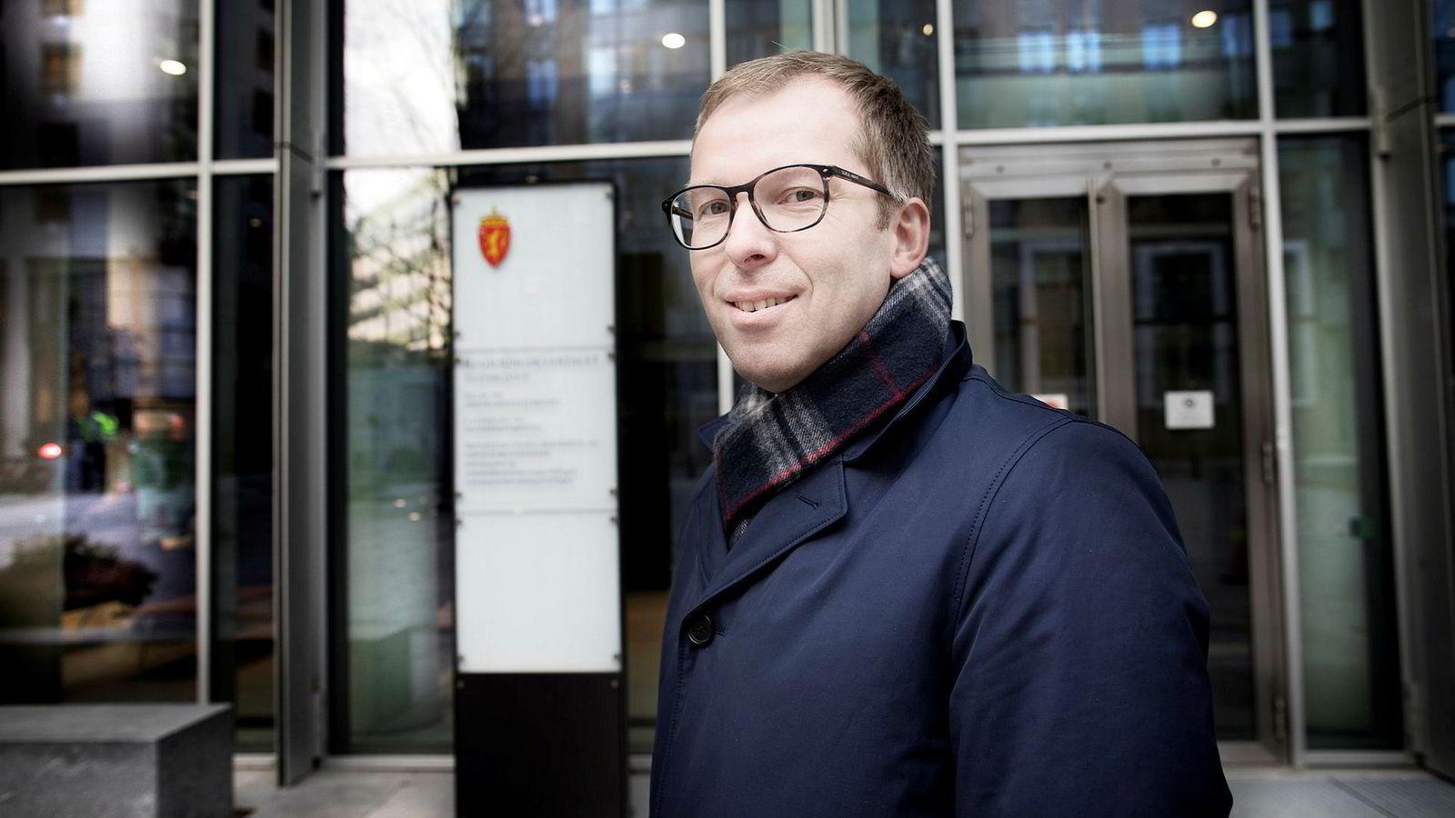 Håkon Haugli, ny sjef i Innovasjon Norge.