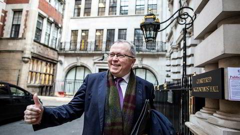 Avtroppende Equinor-sjef Eldar Sætre har all grunn til å smile over milliardtransaksjonen med britiske BP.