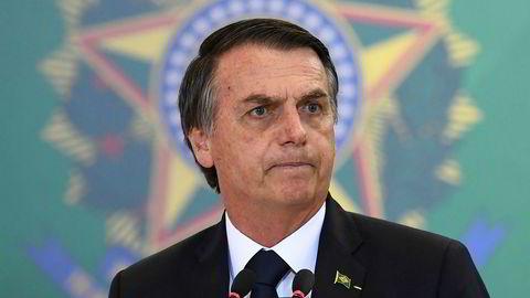 Populariteten til Brasils president Jair Bolsonaro har falt kraftig på få måneder.