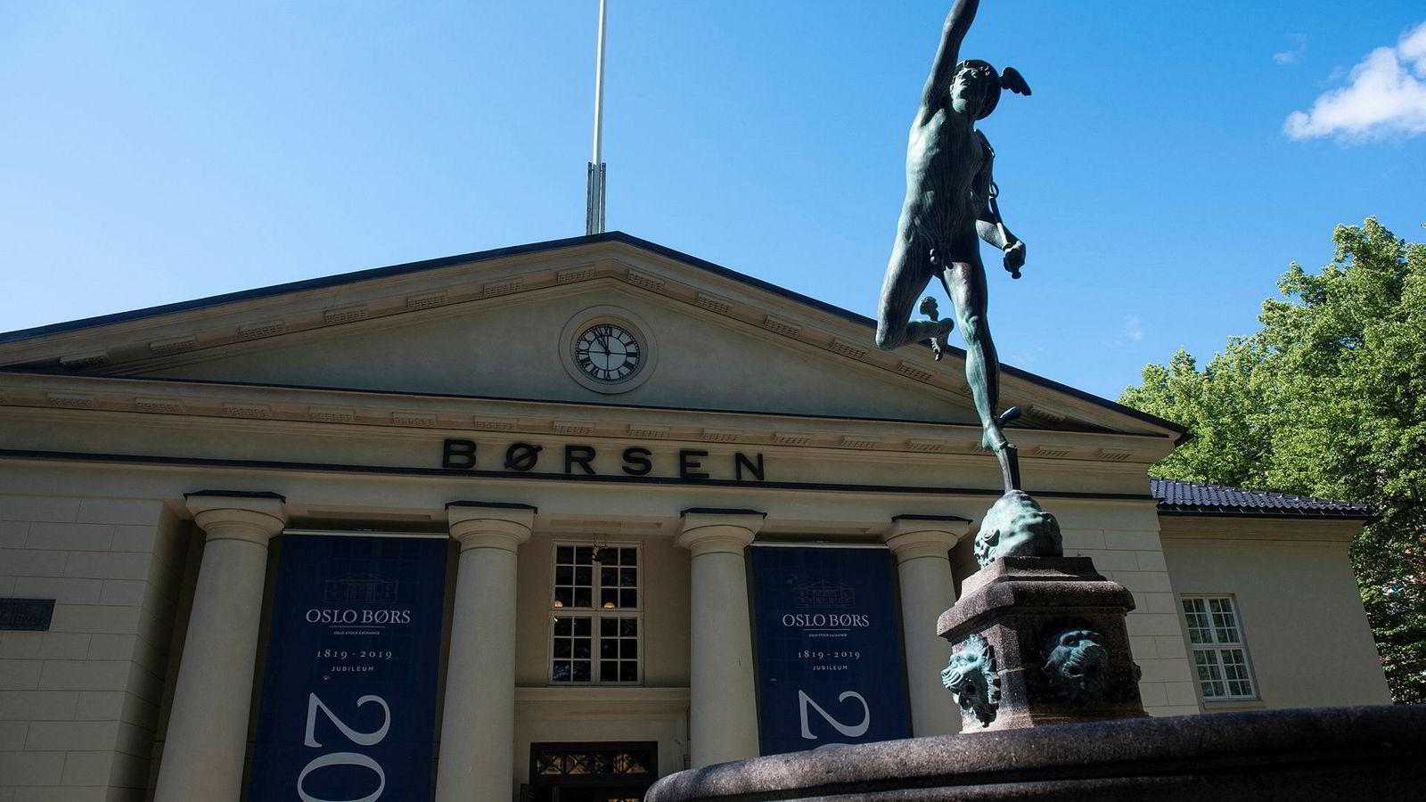 Børsbygningen, Oslo.