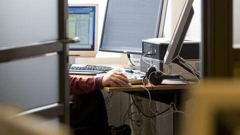 MOBILISERTE: Post- og teletilsynet så seg nødt til å iverksette alarmberedskap på tirsdag. Dette har aldri blitt gjort i forbindelse med data-hendelser. Kun ved ekstremvær eller svikt i tele-infrastrukturen.  Foto: Heiko Junge, Scanpix