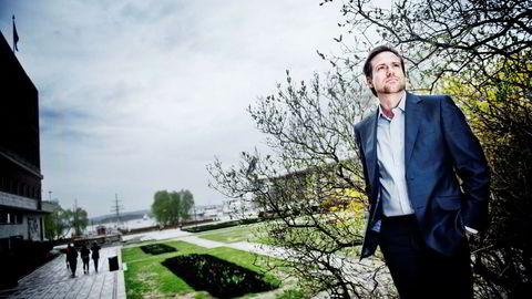 For investor Endre Tarald Glastad (46) har eiendomsutvikling i hjembyen Farsund stått sentralt.