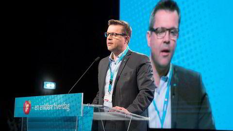 Frank Sve, fylkesleder i Møre og Romsdal Frp, det eneste fylket der Frp gikk fram, sier partiet ikke sitter i regjering for enhver pris.