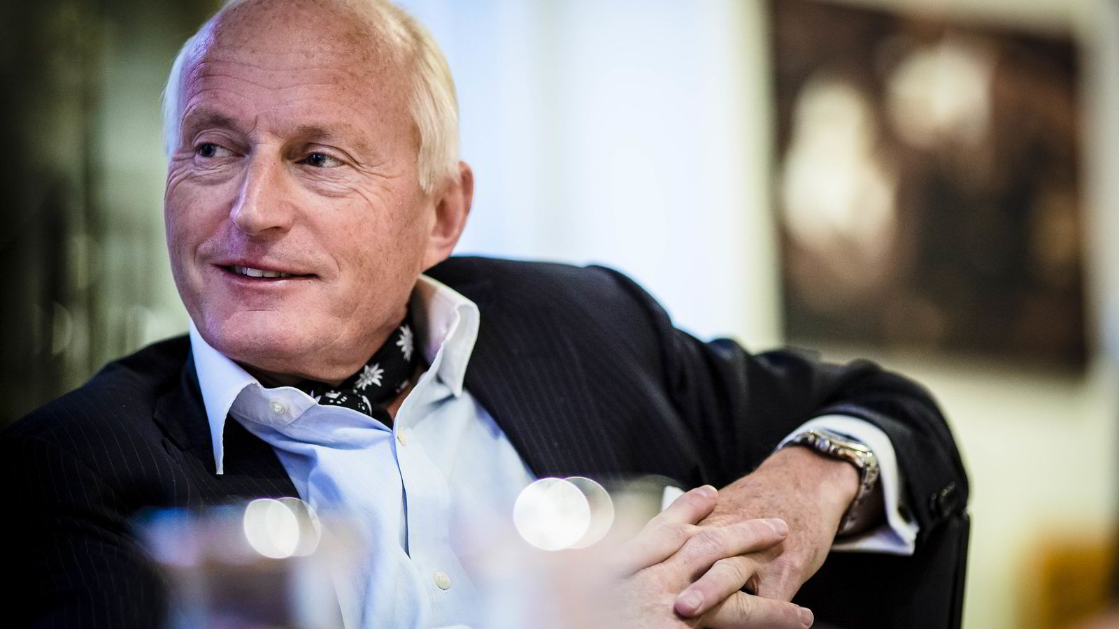 Christian Ringnes synes det er naturlig for en norsk investor å ha sjømat i porteføljen.