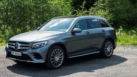 Hybridbiler blir stadig mer populære viser fersk statistikk. Her en Mercedes-Benz GLC 350e.