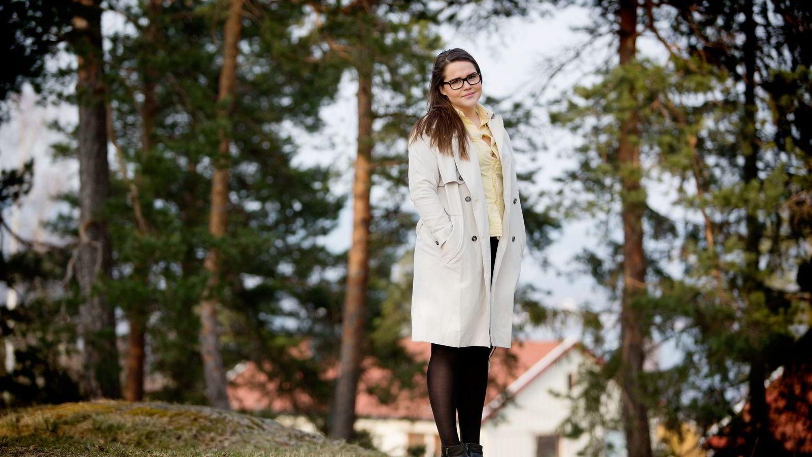 – De nye retningslinjene vil gjøre det mye vanskeligere for oss å betjene lånet vi egentlig kunne fått, sier Oda Ystrøm (23). Foto: