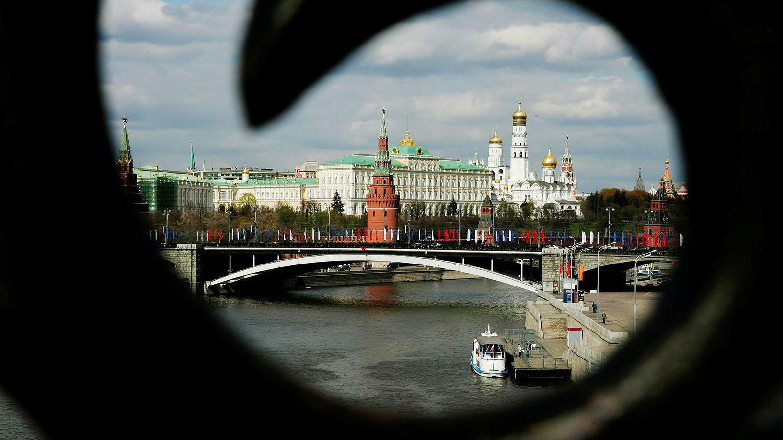 En gang var Russland den ene av verdens to supermakter. Nå er landets økonomi omtrent 40 prosent av Tysklands og 50 prosent av Frankrikes. Her fra Moskva i Russland.