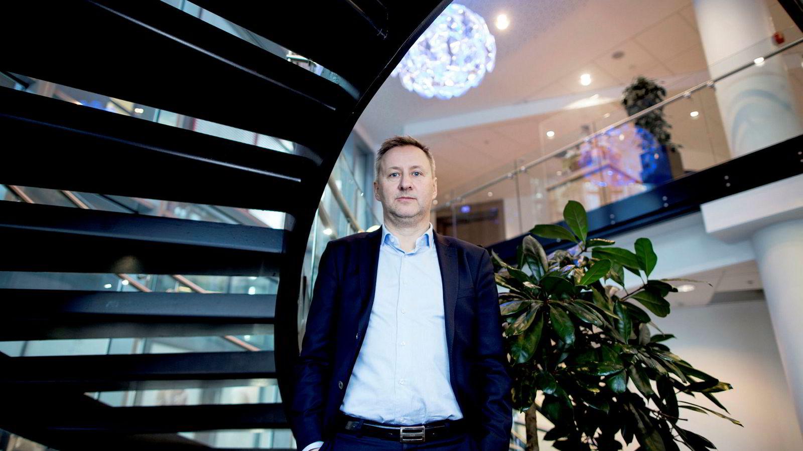 Sjeføkonom Frank Jullum i Danske Bank er overbevist om at norsk økonomi kommer til å klare seg svært bra gjennom 2019.