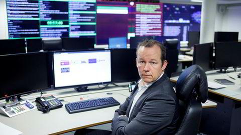Ikt-direktør Hans Christian Pretorius i Nasjonal sikkerhetsmyndighet uttaler seg om Kina og Canadas avtale om å stoppe statlig finansiert dataangrep mot hverandres private sektor. Foto: Javad Parsa