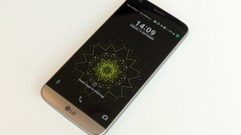 LG G5 kan skryte av godt kamera og god design. Men batteritiden er for dårlig. Foto: Magnus Eidem